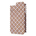 WOVEN2 WHITE MARBLE & RUSTED METAL (R) Apple iPhone 5 Hardshell Case (PC+Silicone) View3
