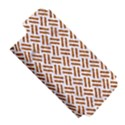 WOVEN2 WHITE MARBLE & RUSTED METAL (R) Apple iPhone 5 Hardshell Case (PC+Silicone) View5