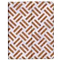 WOVEN2 WHITE MARBLE & RUSTED METAL (R) Apple iPad 2 Flip Case View1