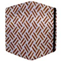 WOVEN2 WHITE MARBLE & RUSTED METAL (R) Apple iPad 2 Flip Case View4