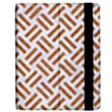 WOVEN2 WHITE MARBLE & RUSTED METAL (R) Apple iPad 3/4 Flip Case View2
