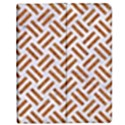 WOVEN2 WHITE MARBLE & RUSTED METAL (R) Apple iPad Mini Flip Case View1