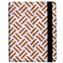 WOVEN2 WHITE MARBLE & RUSTED METAL (R) Apple iPad Mini Flip Case View2