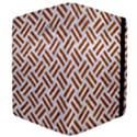 WOVEN2 WHITE MARBLE & RUSTED METAL (R) Apple iPad Mini Flip Case View4