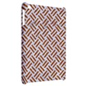 WOVEN2 WHITE MARBLE & RUSTED METAL (R) Apple iPad Mini Hardshell Case View2