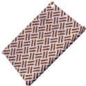 WOVEN2 WHITE MARBLE & RUSTED METAL (R) Apple iPad Mini Hardshell Case View4