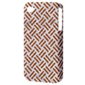 WOVEN2 WHITE MARBLE & RUSTED METAL (R) Apple iPhone 4/4S Hardshell Case (PC+Silicone) View3