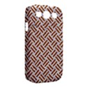 WOVEN2 WHITE MARBLE & RUSTED METAL (R) Samsung Galaxy S III Classic Hardshell Case (PC+Silicone) View2