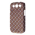 WOVEN2 WHITE MARBLE & RUSTED METAL (R) Samsung Galaxy S III Classic Hardshell Case (PC+Silicone) View3