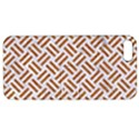 WOVEN2 WHITE MARBLE & RUSTED METAL (R) Apple iPhone 5 Hardshell Case with Stand View1