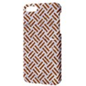WOVEN2 WHITE MARBLE & RUSTED METAL (R) Apple iPhone 5 Hardshell Case with Stand View3