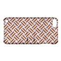 WOVEN2 WHITE MARBLE & RUSTED METAL (R) Apple iPod Touch 5 Hardshell Case with Stand View1