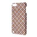 WOVEN2 WHITE MARBLE & RUSTED METAL (R) Apple iPod Touch 5 Hardshell Case with Stand View3