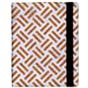 WOVEN2 WHITE MARBLE & RUSTED METAL (R) Samsung Galaxy Tab 10.1  P7500 Flip Case View3