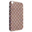 WOVEN2 WHITE MARBLE & RUSTED METAL (R) Samsung Galaxy Tab 3 (8 ) T3100 Hardshell Case  View2