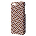 WOVEN2 WHITE MARBLE & RUSTED METAL (R) iPhone 5S/ SE Premium Hardshell Case View3