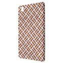 WOVEN2 WHITE MARBLE & RUSTED METAL (R) Samsung Galaxy Tab Pro 8.4 Hardshell Case View3