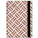 WOVEN2 WHITE MARBLE & RUSTED METAL (R) iPad Air 2 Flip View2