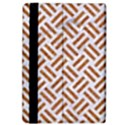 WOVEN2 WHITE MARBLE & RUSTED METAL (R) iPad Air 2 Flip View4