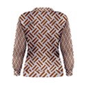 WOVEN2 WHITE MARBLE & RUSTED METAL (R) Women s Sweatshirt View2