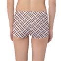 WOVEN2 WHITE MARBLE & RUSTED METAL (R) Boyleg Bikini Bottoms View2