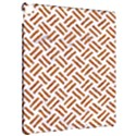 WOVEN2 WHITE MARBLE & RUSTED METAL (R) Apple iPad Pro 12.9   Hardshell Case View2