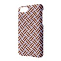 WOVEN2 WHITE MARBLE & RUSTED METAL (R) Apple iPhone 7 Hardshell Case View2