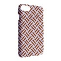 WOVEN2 WHITE MARBLE & RUSTED METAL (R) Apple iPhone 7 Hardshell Case View3