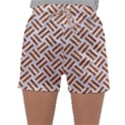 WOVEN2 WHITE MARBLE & RUSTED METAL (R) Sleepwear Shorts View1