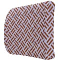 WOVEN2 WHITE MARBLE & RUSTED METAL (R) Back Support Cushion View3
