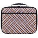 WOVEN2 WHITE MARBLE & RUSTED METAL (R) Full Print Lunch Bag View1
