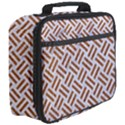 WOVEN2 WHITE MARBLE & RUSTED METAL (R) Full Print Lunch Bag View3