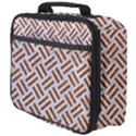 WOVEN2 WHITE MARBLE & RUSTED METAL (R) Full Print Lunch Bag View4