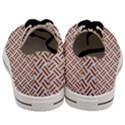 WOVEN2 WHITE MARBLE & RUSTED METAL (R) Men s Low Top Canvas Sneakers View4