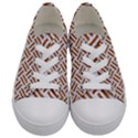 WOVEN2 WHITE MARBLE & RUSTED METAL (R) Kids  Low Top Canvas Sneakers View1