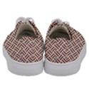 WOVEN2 WHITE MARBLE & RUSTED METAL (R) Kids  Low Top Canvas Sneakers View4