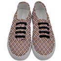 WOVEN2 WHITE MARBLE & RUSTED METAL (R) Men s Classic Low Top Sneakers View1