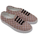 WOVEN2 WHITE MARBLE & RUSTED METAL (R) Men s Classic Low Top Sneakers View3