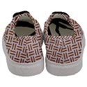 WOVEN2 WHITE MARBLE & RUSTED METAL (R) Men s Classic Low Top Sneakers View4