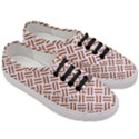 WOVEN2 WHITE MARBLE & RUSTED METAL (R) Women s Classic Low Top Sneakers View3