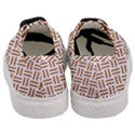 WOVEN2 WHITE MARBLE & RUSTED METAL (R) Women s Classic Low Top Sneakers View4