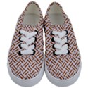 WOVEN2 WHITE MARBLE & RUSTED METAL (R) Kids  Classic Low Top Sneakers View1
