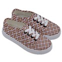 WOVEN2 WHITE MARBLE & RUSTED METAL (R) Kids  Classic Low Top Sneakers View3