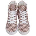 WOVEN2 WHITE MARBLE & RUSTED METAL (R) Women s Hi-Top Skate Sneakers View1