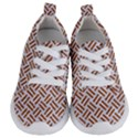 WOVEN2 WHITE MARBLE & RUSTED METAL (R) Kids  Lightweight Sports Shoes View1