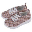 WOVEN2 WHITE MARBLE & RUSTED METAL (R) Kids  Lightweight Sports Shoes View2