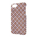 WOVEN2 WHITE MARBLE & RUSTED METAL (R) Apple iPhone 8 Hardshell Case View2