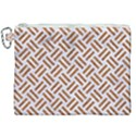 WOVEN2 WHITE MARBLE & RUSTED METAL (R) Canvas Cosmetic Bag (XXL) View1