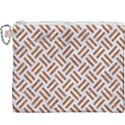WOVEN2 WHITE MARBLE & RUSTED METAL (R) Canvas Cosmetic Bag (XXXL) View1