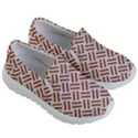 WOVEN2 WHITE MARBLE & RUSTED METAL (R) Kid s Lightweight Slip Ons View3
